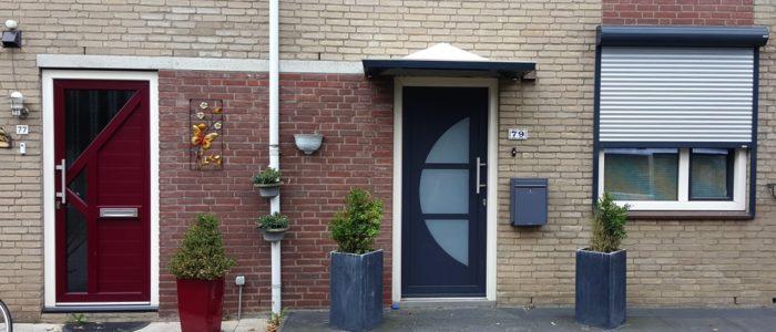 Deurluifel, Kunststof deurluifel, kunststof deurluifel, voordeurluifel, kunststof voordeurluifels op maat, deurluifel kleur, deurluifel met verlichting
